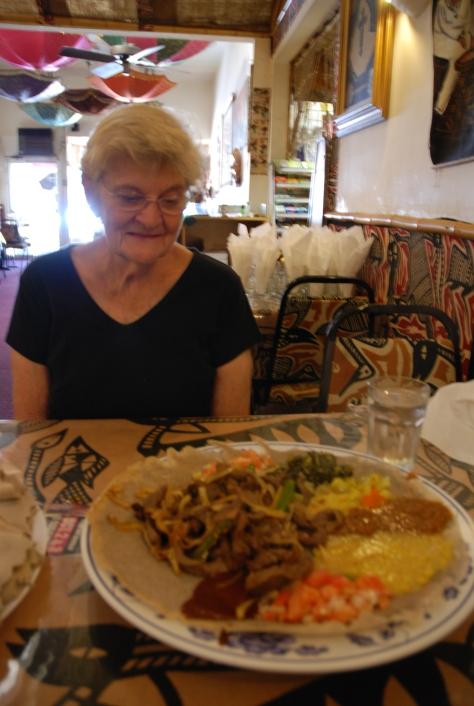 Merkato Lunch