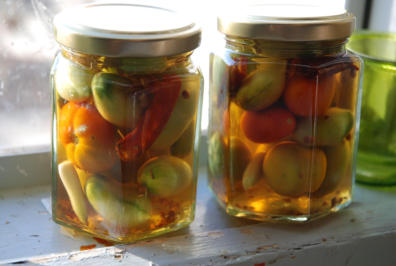 Зеленые помидоры пошаговый рецепт с картинками