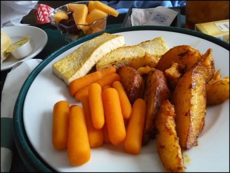 Hospital food yum